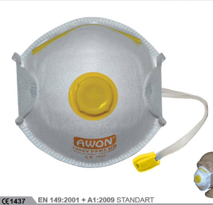 1200V FFP2 NR Ventilli Solunum Koruyucu